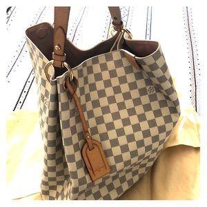 💯 Authentic Louis Vuitton Graceful bag azur